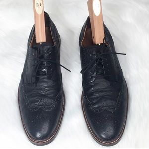 Cole Haan Warren Welt Wing Tip Leather Size 12 Ox